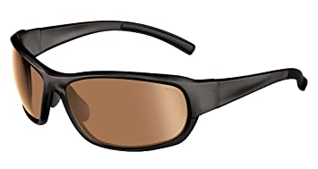 08576fcde0 Bolle Bounty Photo V3 Golf Oleo Sunglasses - Shiny Black  Amazon.co ...