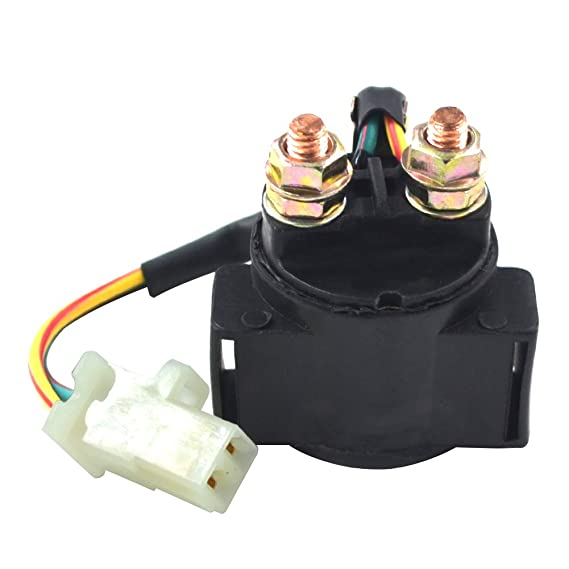 ZZOY Motorcycle Starter Solenoid Relay Switch Kit for HONDA TRX300 FOURTRAX 1988-2000//YAMAHA BIG BEAR 350 YFM350 1987-1999 ATV