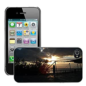 Hot Style Cell Phone PC Hard Case Cover // M00310580 Butyl ??? Marine Museum The Sea Taiwan // Apple iPhone 4 4S 4G