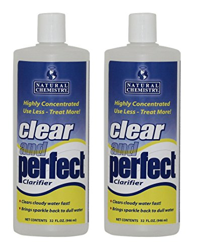 2 Natural Chemistry 03500 Clear & Perfect Swimming Pool Clarifier - 32 oz Each