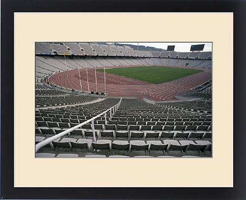 Framed Print of EU, Spain, Barcelona, Olympic Stadium can seat 70,000 by Fine Art Storehouse