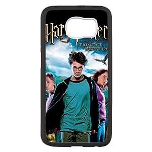 Harry Potter y el Prisionero de Azkaban alta resolución cartel Samsung Galaxy S6 caja del teléfono celular funda Negro caja del teléfono celular Funda Cubierta EEECBCAAJ76338