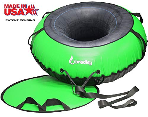(Bradley Ultimate Tow-able Snow Tube Sled and 60