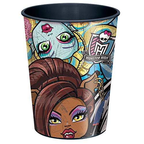 16oz Monster High Plastic Cups, 12ct
