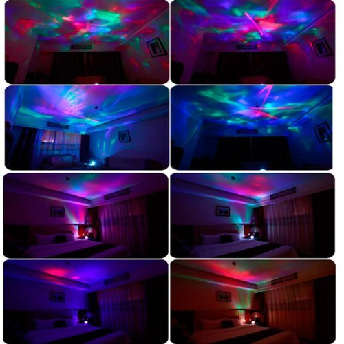 MyHome la Aurora boreal color diamantes cambia de color luz ...