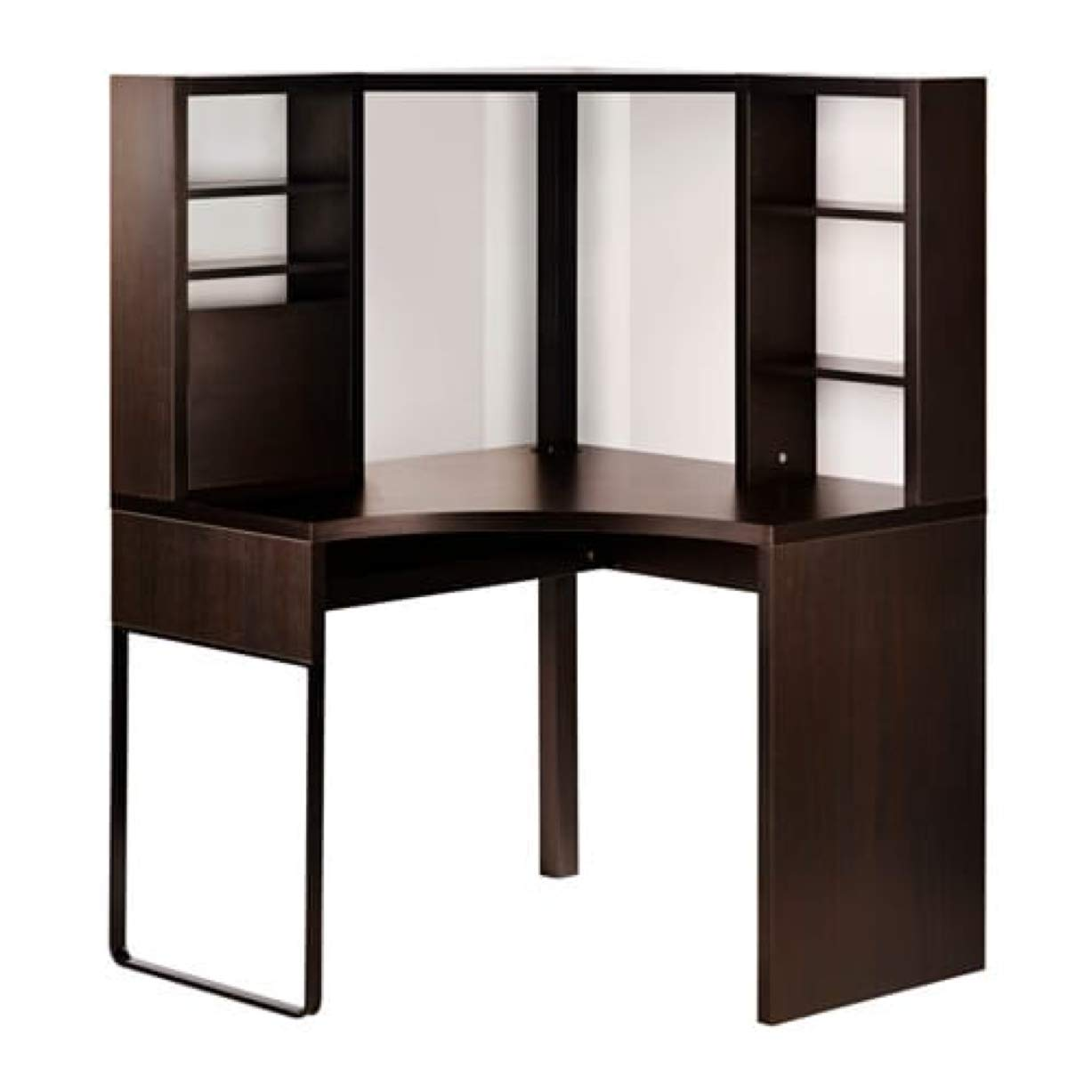 online store b5cc0 368dc Amazon.com: IKEA Micke Corner Workstation Black-Brown ...