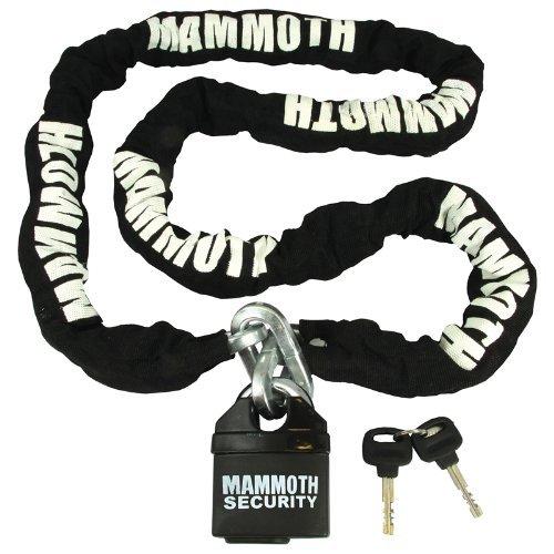 LOCMAM - Bike It Mammoth 10mm Square Chain and Lock