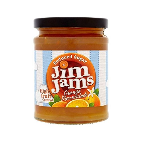JimJams Reduced Sugar Orange Marmalade 300g - Pack of 2 by JimJams