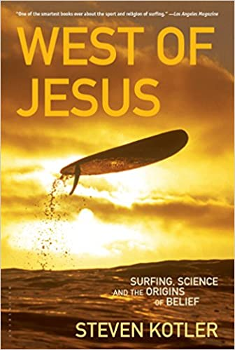 image for West of Jesus: Surfing, Science, and the Origins of Belief