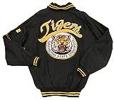 Grambling State University Tigers Varsity Trimmed HBCU lack College Mens Big & Tall Jacket (5x large)
