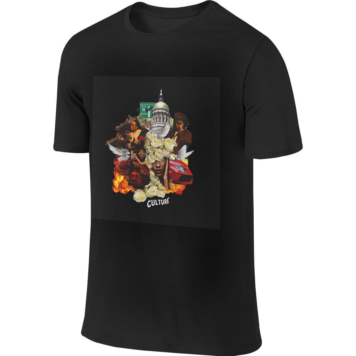 Natalie B Phillips Mans Migos Culture Band Music Theme Short Sleeves T Shirt 1424
