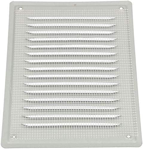 KOTARBAU griglia di ventilazione 230 X 165 mm Griglia di scarico a vite laccata camino ventilazione marrone zanzariera resistente alla corrosione