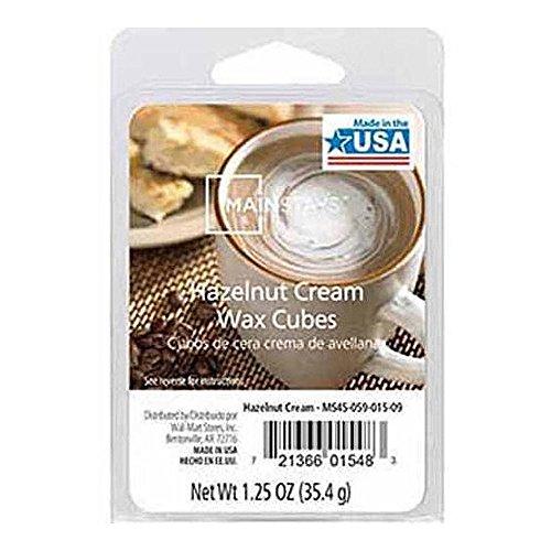 Mainstays Hazelnut Cream Scented Wax Cube Melts MS14-059-015-11