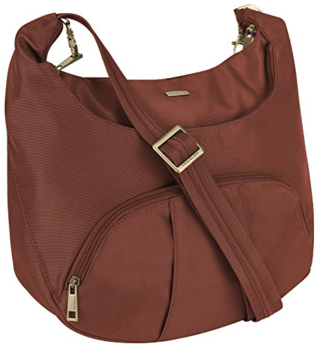 UPC 025732032549, Travelon Anti-Theft Round Hobo with RFID Wristlet - Spice