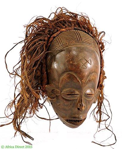 Chokwe Mask Mwana Pwo Headdress Congo African Art