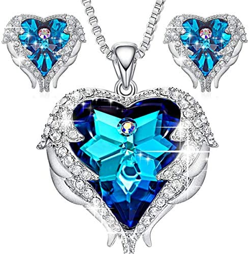 CDE Jewelry Swarovski Necklace Earrings product image
