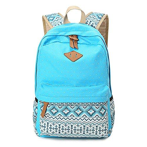 Cute Lightweight Canvas Bookbag