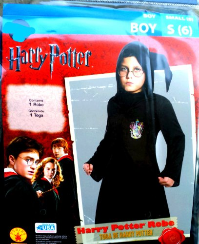 Harry Potter Boys Robe with Hood Halloween Costume Small 6