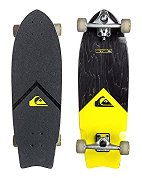 Quiksilver The New Wave Truck Skateboard Cruiser Jaune 28""