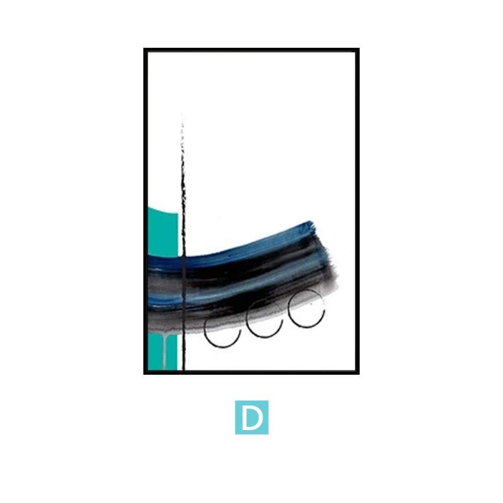 tiendas minoristas D DEED Pintura Minimalista Minimalista Minimalista nórdica del Arte Abstracto, Pintura Decorativa Triple de la Sala de Estar, Pintura de cabecera del Dormitorio, Pintura de Parojo 30  40  tienda en linea