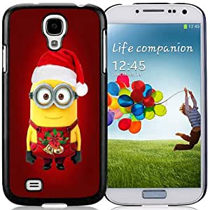 NEW DIY Unique Designed Samsung Galaxy S4 I9500 Phone Case For Minions Christmas 02 Phone Case Cover