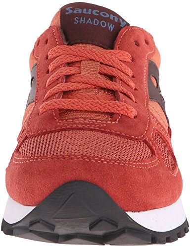Saucony Originals Womens Shadow Original Fashion Sneaker Rust