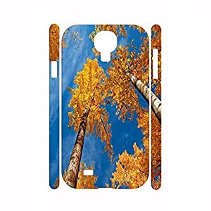 Fancy Romantic Scenery Collection Leaves Photographic Dustproof Hard Plastic Case Cover For Samsung Galaxy S4 I9500