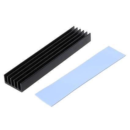 Ranuw - Disipador térmico de aluminio para NVME M.2 NGFF 22110 PCI ...