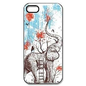 Adam L. Nguyen's Shop Best Dirt Shock Proof Animal Elephant Painting Design Hard Back Case Cover for iPhone 4/4S 8679534M23182010