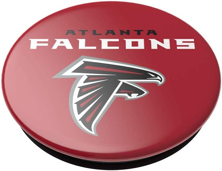 PopSockets PopGrip with Swappable Top for Phones /& Tablets NFL Atlanta Falcons Logo