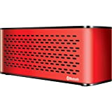 iSound Sonic Waves Bluetooth Speaker with Microphone (red)