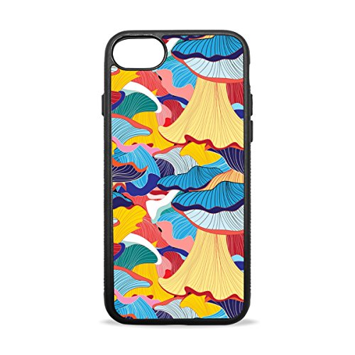 Blue Viper Colorful Artistic Wave Bumper TPU Soft Rubber Silicone Cover Personalized iPhone Case for iPhone 7 Plus Artistic Waves