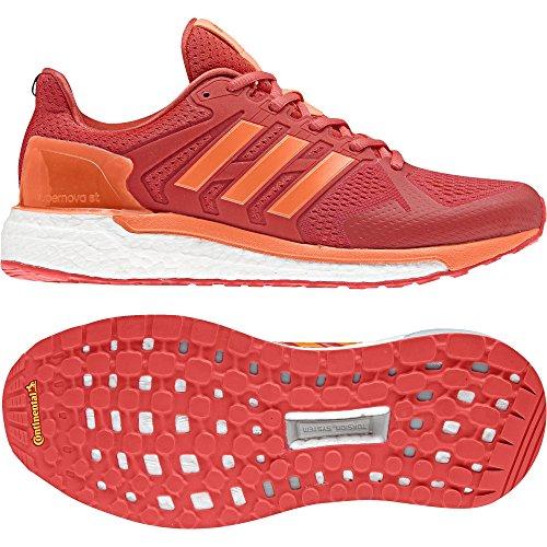 adidas Damen Supernova St W Laufschuhe Orange (Real Coral S18/hi-res Orange S18/hi-res Red S18)