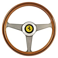 """Officially licensed by Ferrari, the Thrustmaster Ferrari 250 GTO Wheel Add-on is a replica of the iconic Ferrari 250 GTO wheel  Designed with top-grade materials, this sumptuous 8:10 scale replica measures 13""""/33 cm in diameter, for to..."""