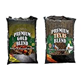 MRT SUPPLY Premium Gold Blend Grilling Pellets, Premium Texas Blend Pellets with Ebook