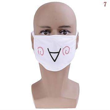 masque facial coton