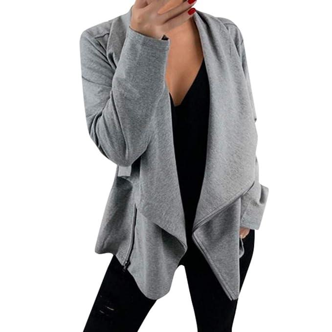 cheap for discount 3066a 5cd23 Cardigan Donna Elegante a Maniche Lunghe per Primavera ...