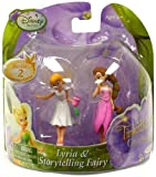 Disney Fairies Tinker Bell And The Great Fairy Rescue 2 Inch Mini Figure 2Pack Lyria Storytelling Fairy