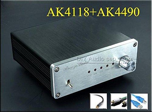HiFi AK4118+AK4490+XMOS decoder Coaxial Optical USB DAC 192K 24BIT