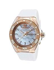 Technomarine Men's TM-115063 Cruise Monogram Analog Display Quartz White Watch by TechnoMarine