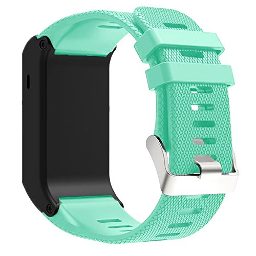 Dreaman New Fashion Sports Silicone Bracelet Strap Band For Garmin vivoactive HR Mint Green - Hr Womens Green