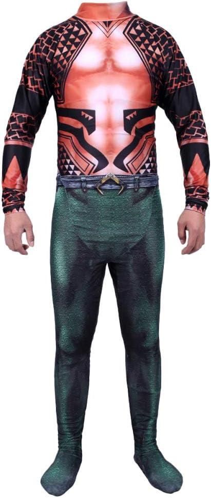 QQWE Aquaman Cosplay Disfraz DC Hero Juego De rol Ropa Traje ...