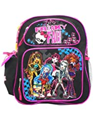 Skulls Monster High 12 Backpack - Monster High Bookbag - Freaky Fab