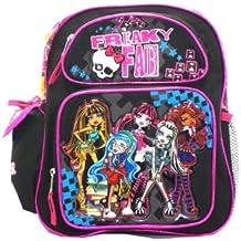 """Skulls Monster High 12"""" Backpack - Monster High Bookbag - Freaky Fab"""