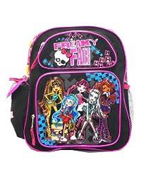 Small Size Black Freaky Fab Monster High Backpack - Monster High Bookbag [Toy]