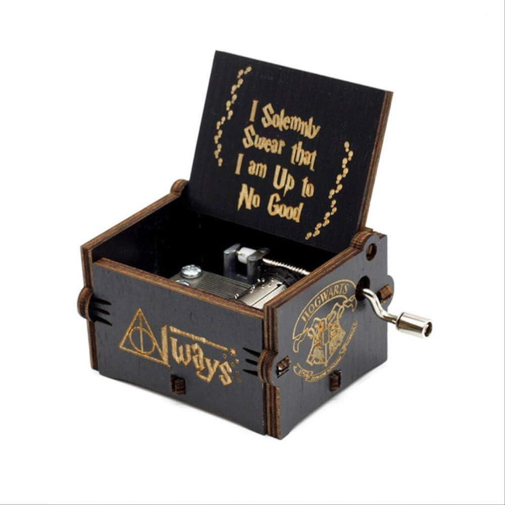 YongZhiFang Queen Carillon Crank Love Dad And Love Mom Music Box Twinkle Star Cajita Musical Gioco dei Diritti Regalo di Natale Regali di Compleanno HP