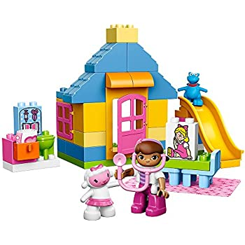 LEGO DUPLO l Disney Doc McStuffins Backyard Clinic 10606 Learning Toy for Toddlers, Large Building Bricks