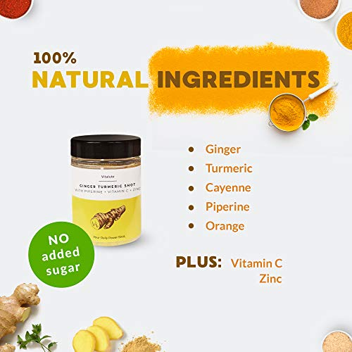 30-Ginger-Shots-with-Turmeric-30-Shots-to-Go-No-Sugar-Curcumin-Cayenne-Pepper-Vitamin-C-Powder-Drink