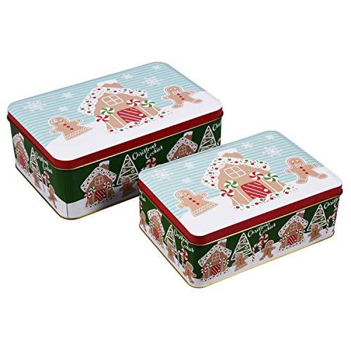 Rushmore Mountain Taffy Hand Made Kettle Fresh Salt Water Taffy, Christmas Tin, Assorted (Nougats Christmas)