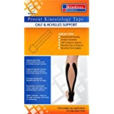 5 Pack - Kindmax Kinesiology Tape Calf & Achilles Support - K Tape for Calf & Achilles Tendon Injuries